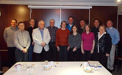 Photo de groupe des membres du Comité en 2013